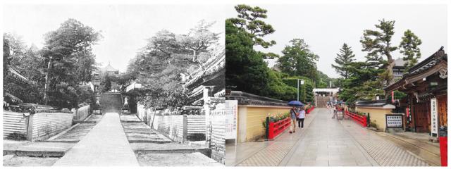 中山寺の参道
