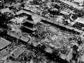四天王寺 室戸台風の被害