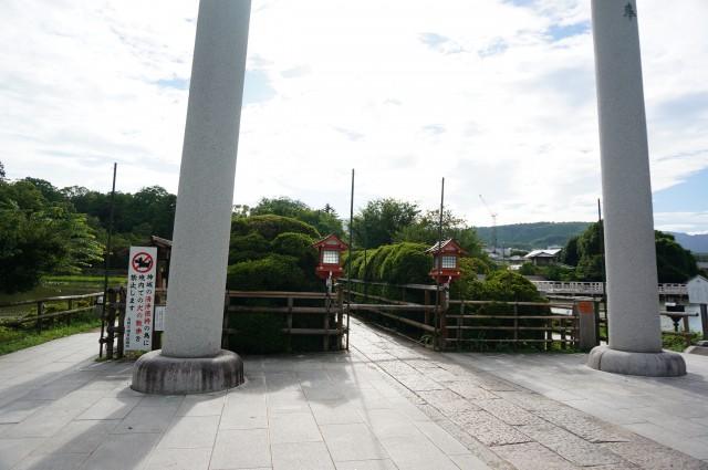 長岡天満宮で有名なキリシマツツジ