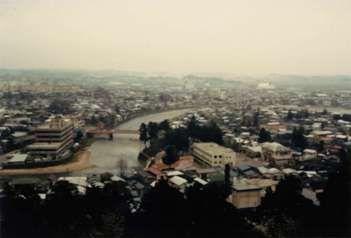 横手城からの風景