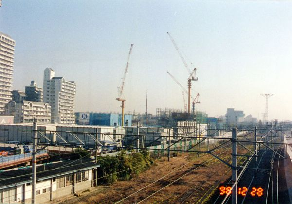 JR・尼崎駅北第二地区市街地再開発工事