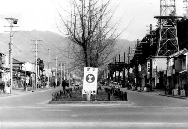 平和通 本町から東向き