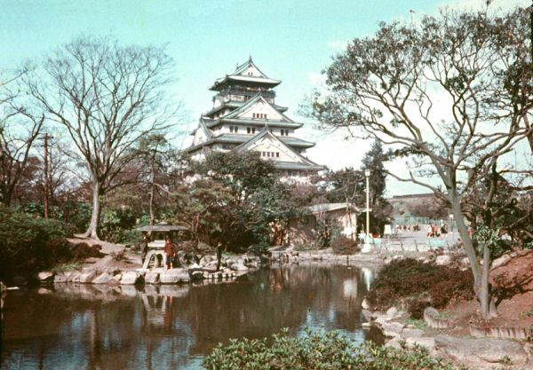 大阪城 (昭和36年頃)
