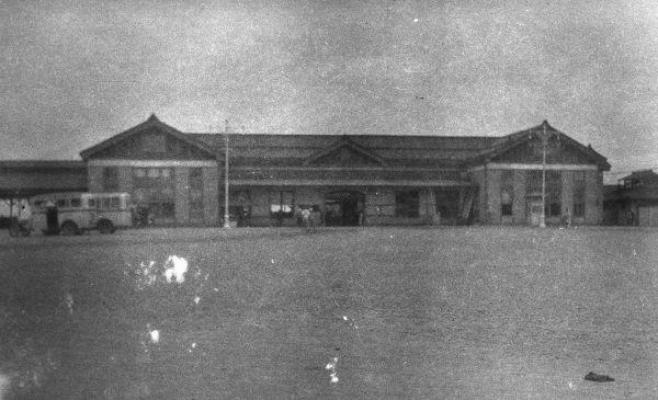 1933年(昭和8年)ごろの秋田駅