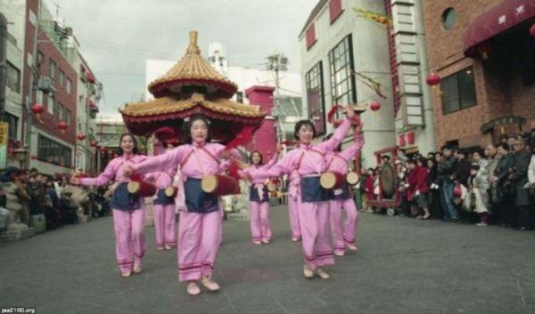 南京町の春節祭