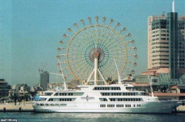 神戸ハーバーランド・クルーズ船