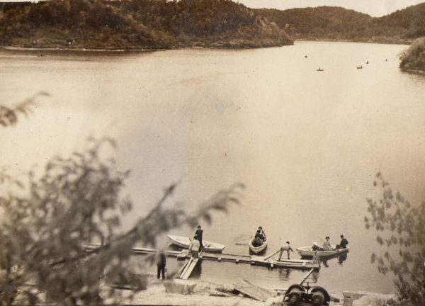 保古の湖/恵那市の風景