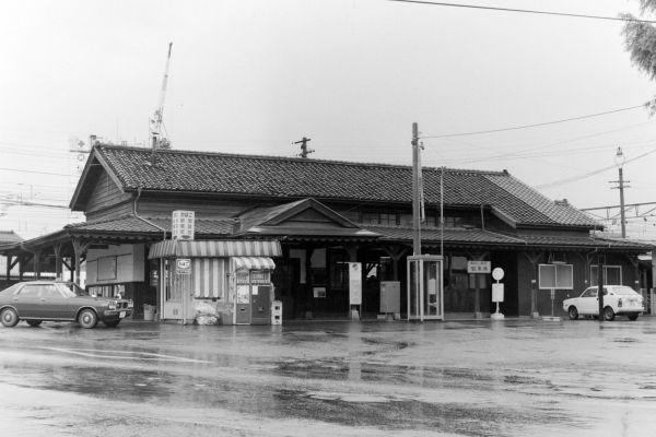 国鉄 北松本駅