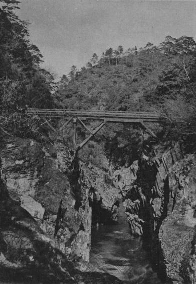 高千穂村神橋