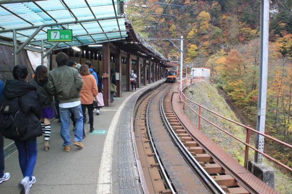 欅平駅/黒部峡谷鉄道