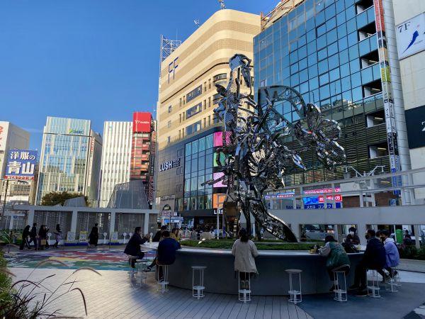 新宿駅付近のバラック