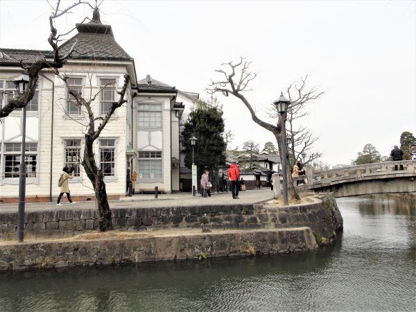 倉敷館と中橋