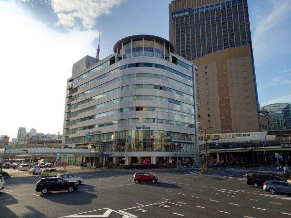 震災復興した神戸交通センタービル