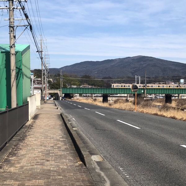 中津川市柳町の風景(中津川とD51)