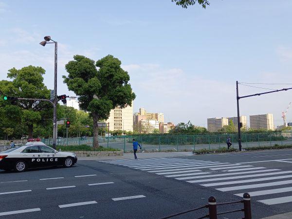 大阪・JOBK大阪放送局(馬場町、現・NHK大阪)