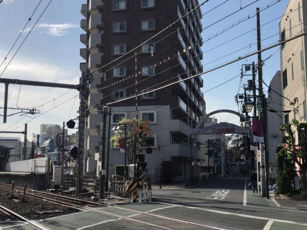 西武池袋線江古田駅西側踏切
