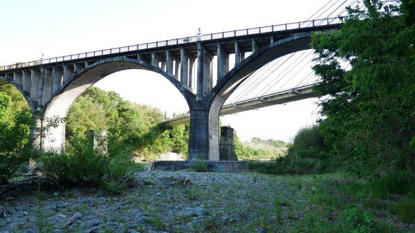 木鉄混合プラットトラス橋の初代秩父橋