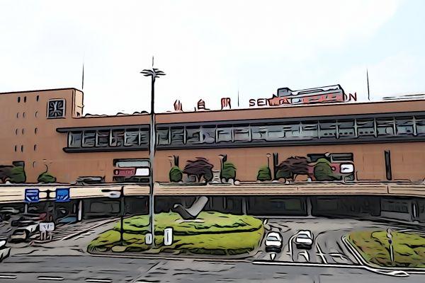 仙台駅/東北新幹線・東北本線・仙石線