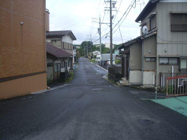 中津川市柳町の風景