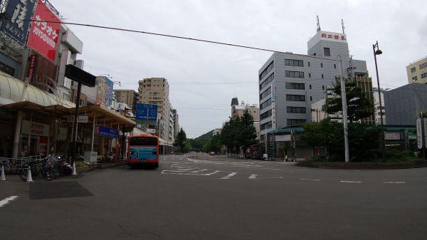 南堀端~松山市駅前